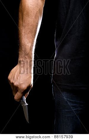 Mugger with a Knife