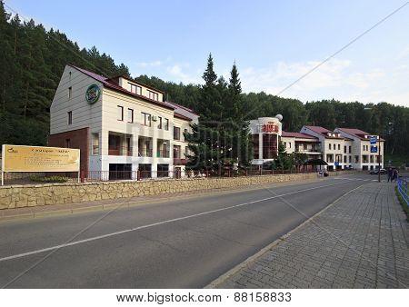 Sanatorium Edem in resort Belokurikha.