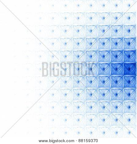 Blue Modular Pattern