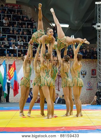 Russian National Gymnastics Aesthetic Team