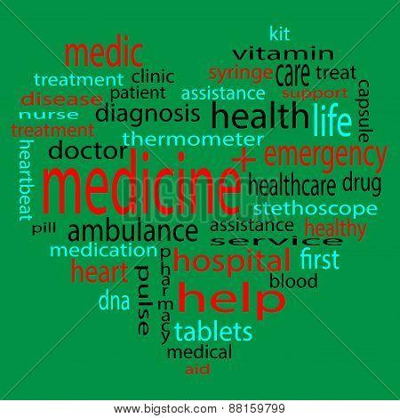 Form Heart Medicine Tag