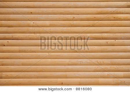 A log of pine