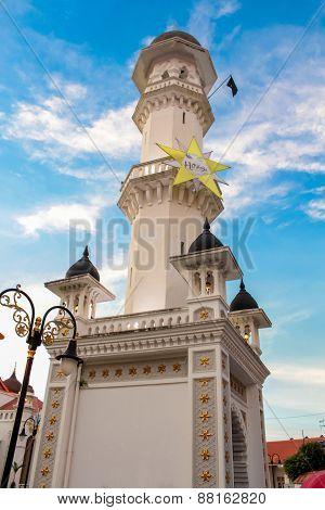 Kapitan Keling Mosque In George Town, Penang, Malaysia
