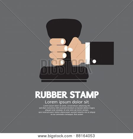 Rubber Stamp Tool.