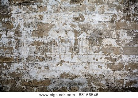 Old Grungy Crack Wall Textured