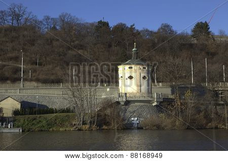 Chapel of St. Mary Magdalene Church in Prague. Czech Republic.