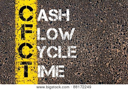 Business Acronym Cfct - Cash Flow Cycle Time