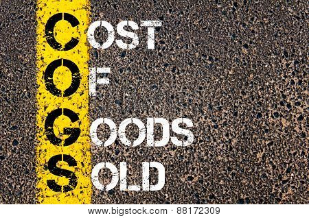 Business Acronym Cogs - Cost Of Goods Sold