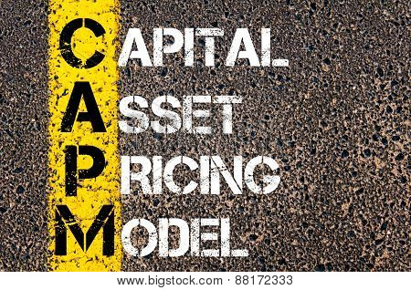Business Acronym Capm - Capital Asset Pricing Model