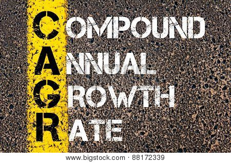 Business Acronym Cagr - Compound Annual Growth Rate
