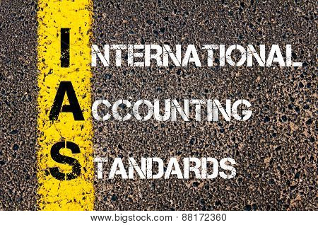 Business Acronym Ias - International Accounting Standards