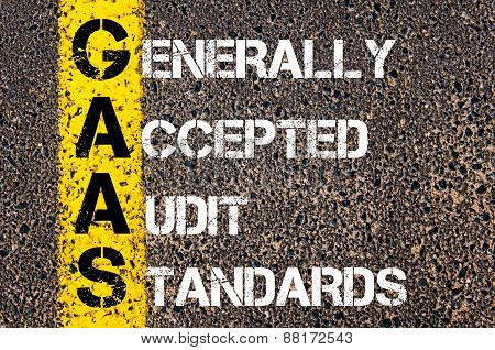 Business Acronym Gaas – Generally Accepted Audit Standards