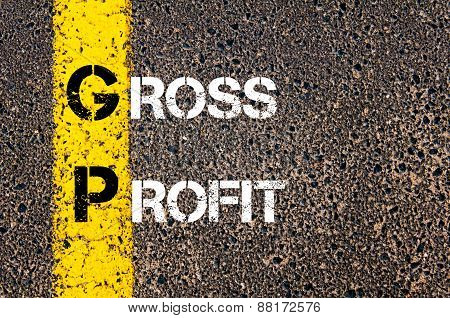 Business Acronym GP as Gross Profit