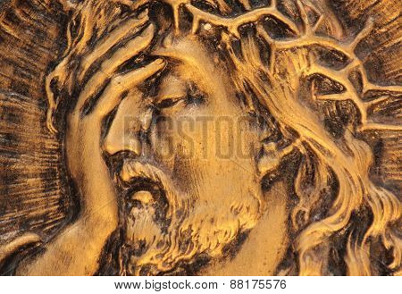 Jesus Christ Crown Of Thorns At