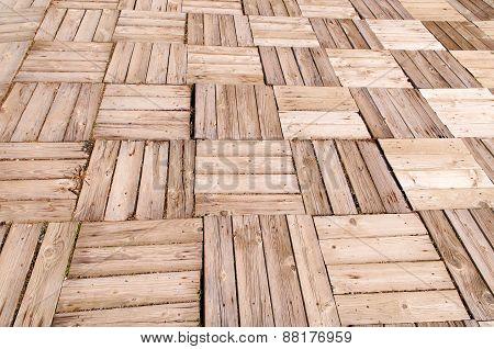 Wooden Floor I