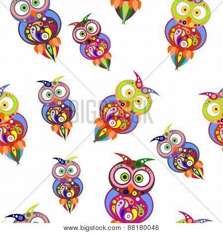 owls background