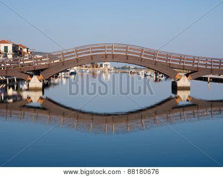 Bridge In Lefkada Town