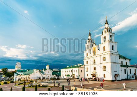 Cathedral Of Holy Spirit In Minsk - Main Orthodox Church Of Belarus