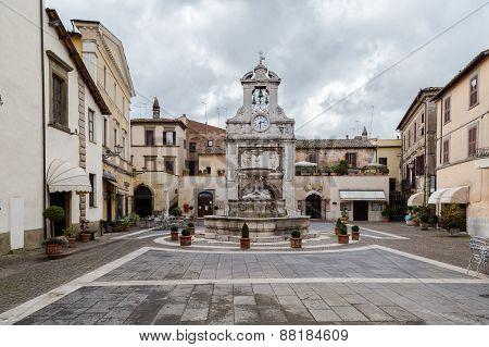 Town Square (piazza Del Comune) - Sutri - Lazio