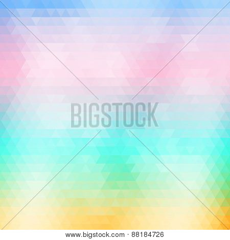 Soft Colored Abstract  Geometric Background