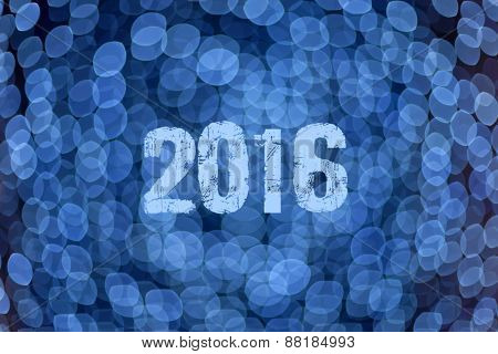 Abstract Blue Background For Upcoming 2016