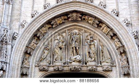 Architectural Details In Belgium
