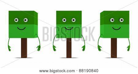 Three Tree Characters