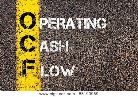 Business Acronym Ocf - Operating Cash Flow