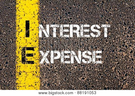 Business Acronym Ie - Interest Expense