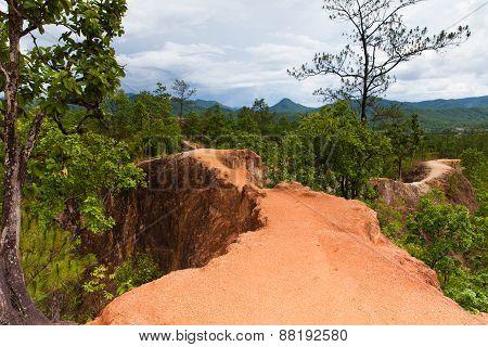 Pai Canyon, Mae Hong Son Province, Thailand.