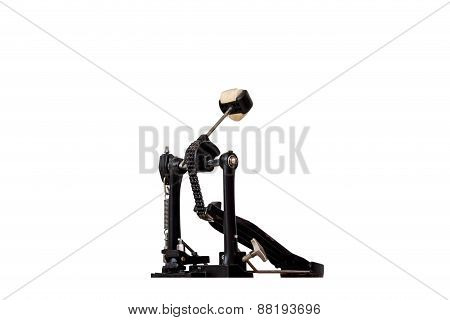 Kick Drum Pedals Isolate Background