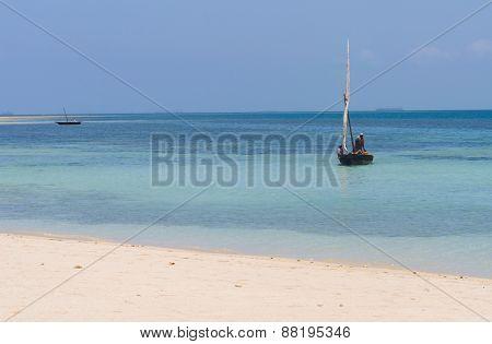 Mbudya island in Tanzania, Africa