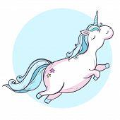 foto of unicorn  - Vector illustration - JPG