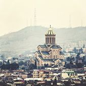 Постер, плакат: Holy Trinity Cathedral of Tbilisi