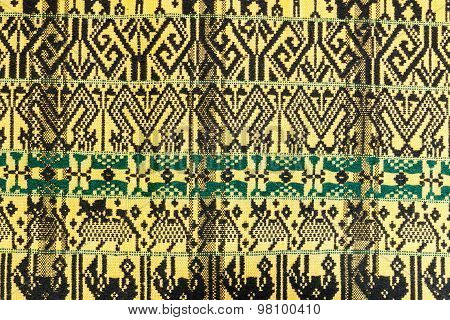 Patterns On  Hand Woven