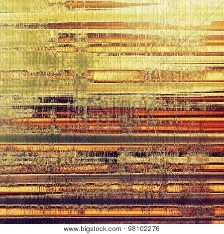 Old ancient texture, may be used as abstract grunge background. With different color patterns: yellow (beige); brown; purple (violet); red (orange)