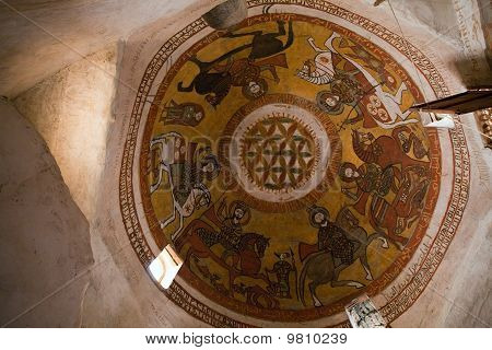 Coptic Cupola Painting