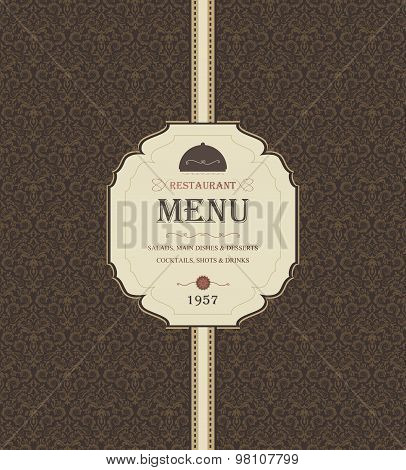 Vintage Restaurant Menu