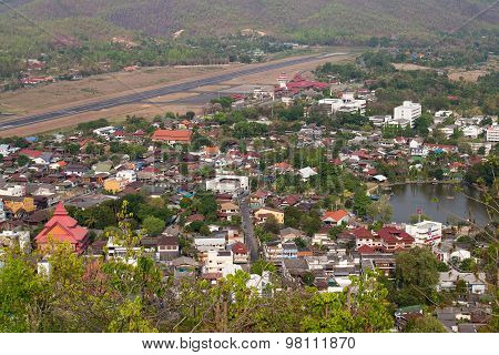City View Of Mae Hong Son, Thailand