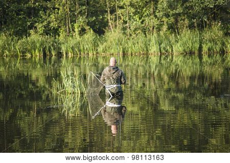 Angling At The Morning