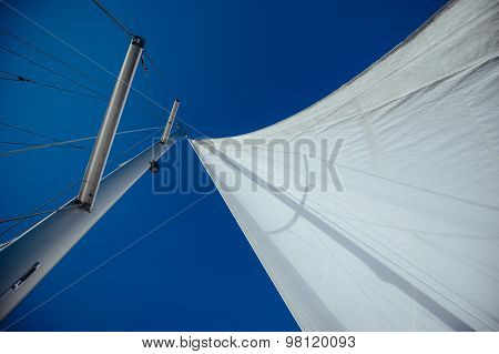 Uncover the wind sail