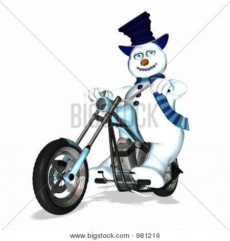 Snowman Chopper 1