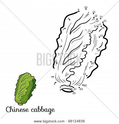 Numbers Game: Fruits And Vegetables (chinese Cabbage)