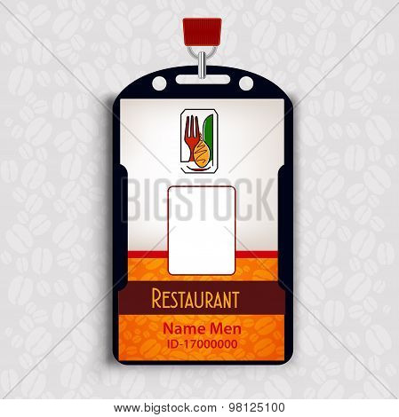 Id Corporate identity Menu Restaurant Background coffee beans brown