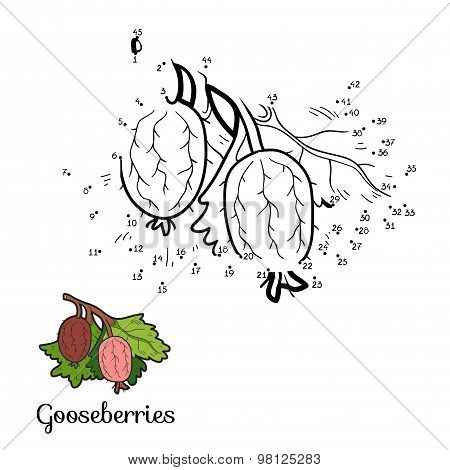 Numbers Game: Fruits And Vegetables (gooseberries)