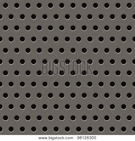 Grey Metal Grill Pattern