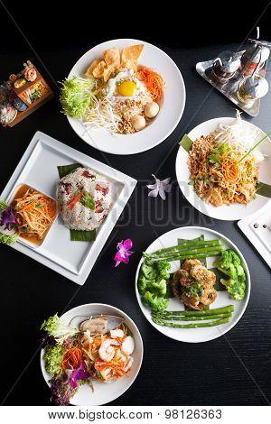 Thai Food Plates