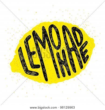 Lemonade Hand Lettering
