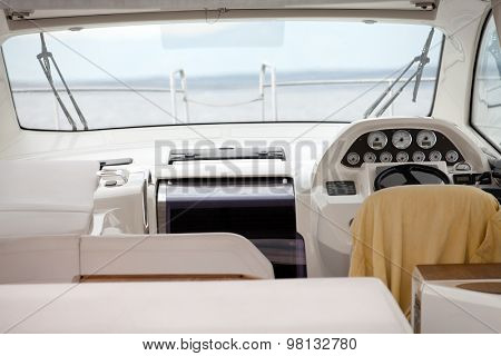 Powerboat interior