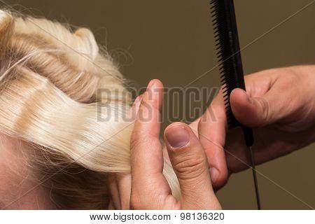 Hair stylist.